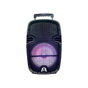 Parlante Argom Tech Bluetooth Arg-sp-4021bk Soundbash Led Con Ruedas